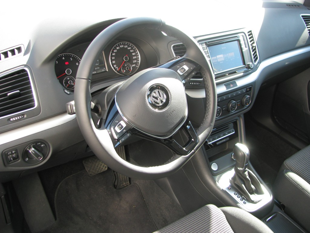 VW Sharan 1,4 TSi 150 DSG 7 pers.