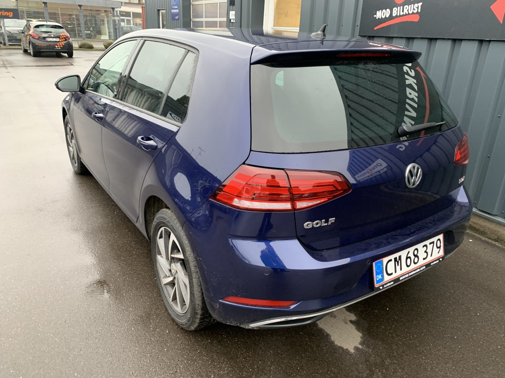 VW Golf 1,6 TDI DSG