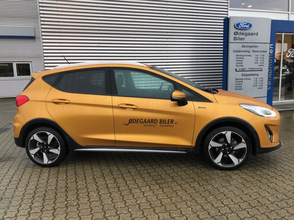 Ford Fiesta Active II 1.0 140HK