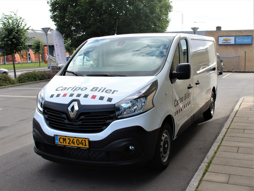 Renault Trafic - Kan ikke betales med Mastercard Debit