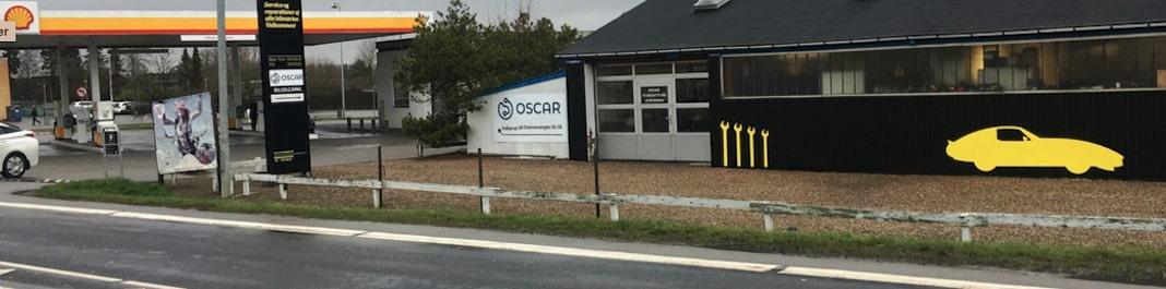 Facaden af Oscar Biludlejning Odense NV