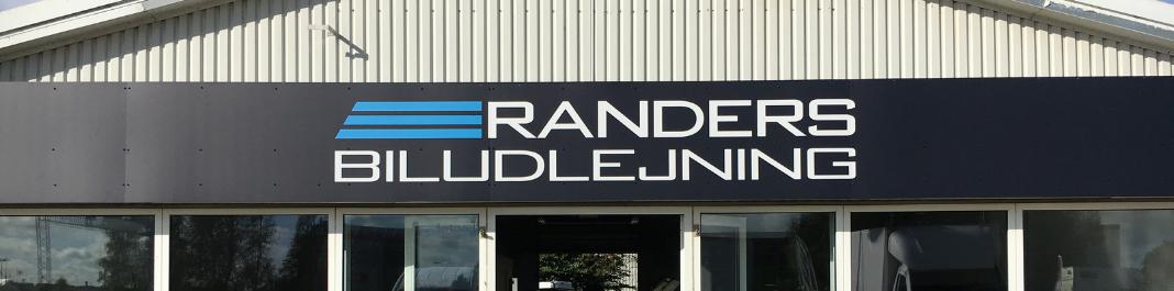 Facaden af Oscar Biludlejning Randers SV
