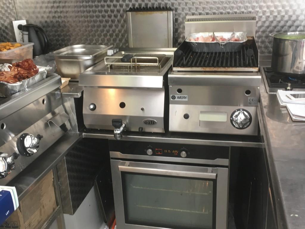 Foodtruck udstyr